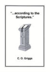 Booklet: According to the Scriptures