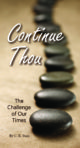 Booklet: Continue Thou