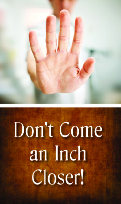 Tract: Don't Come An Inch Closer