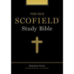 Bible: Old Scofield Study Bible, Classic Edition  Black Genuine Leather 294RL