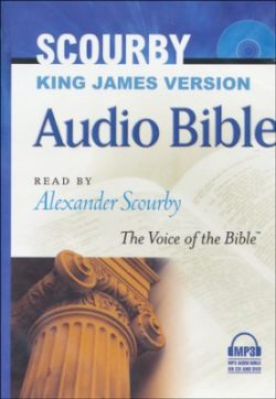 Audio Bible: KJV Bible on MP3–3 CDs plus DVD  563597