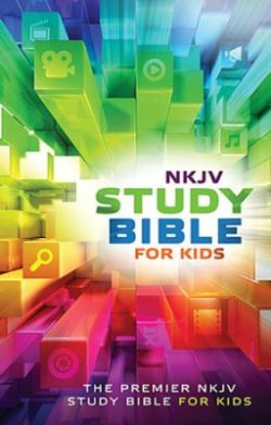 Bible: NKJV Study Bible for Kids, hardcover  32456