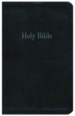 Bible: NKJV Giant-Print Personal-Size Reference Bible; Imitation Leather Black  84820