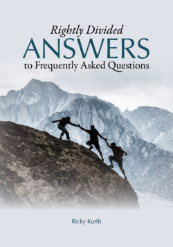 Paperback: Rightly Divided Answers to Frequently Asked Questions