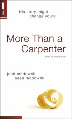 Paperback: More Than a Carpenter