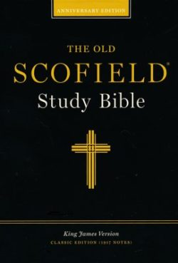Bible: Old Scofield Study Bible, Classic Edition  Black Bonded Leather 291RL