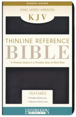 Bible: KJV Thinline Bible–bonded leather, black  705715
