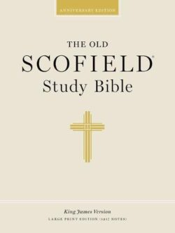 Bible: KJV Old Scofield Study Bible, Large Print, Bonded leather, Black, Thumb-Indexed  391RRL  272544