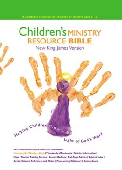 Bible: NKJV Children's Ministry Resource Bible, Hardcover